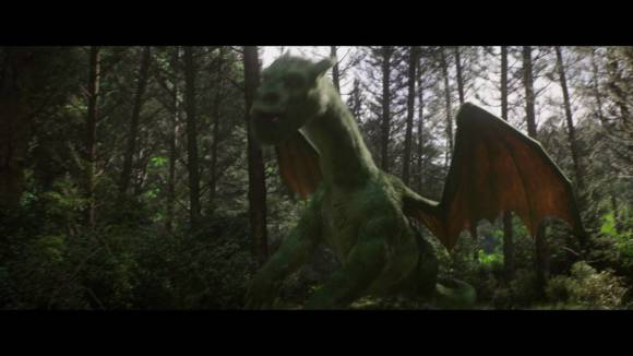 Pete's Dragon - First Look: Elliot Takes Pete For a Ride