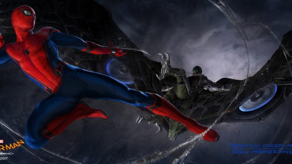 SDCC2016: Concept Art toont gevecht 'Spider-Man' en Vulture