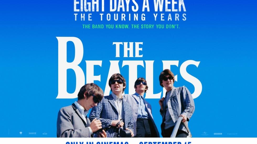 Nieuwe trailer 'Eight Days A Week', Ron Howards Beatles film