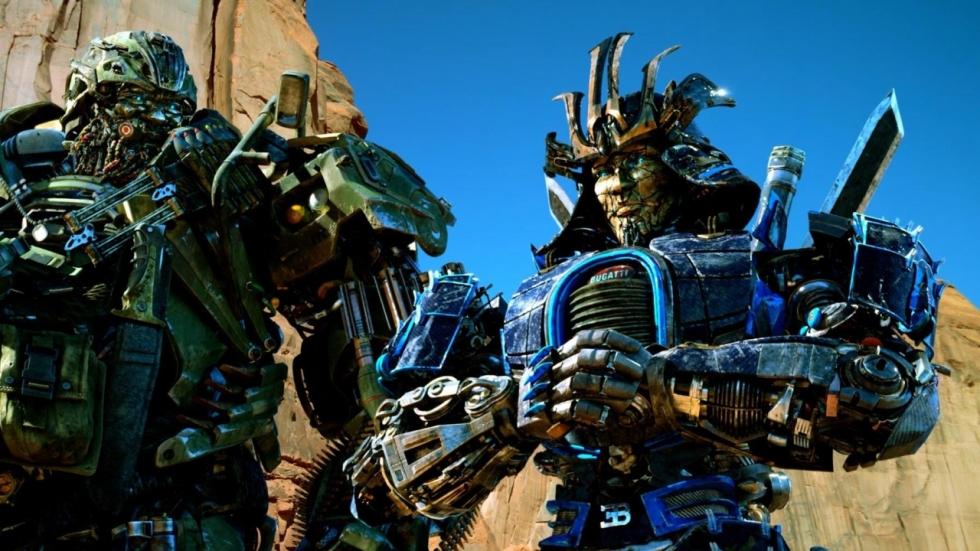 Robotvormen Drift & Sqweeks in 'Transformers: The Last Knight' onthuld