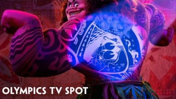 Moana - Olympics TV-spot
