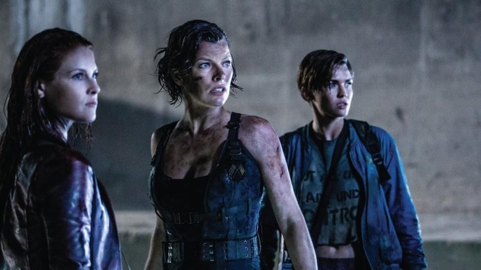 Eerste foto's uit 'Resident Evil : The Final Chapter'