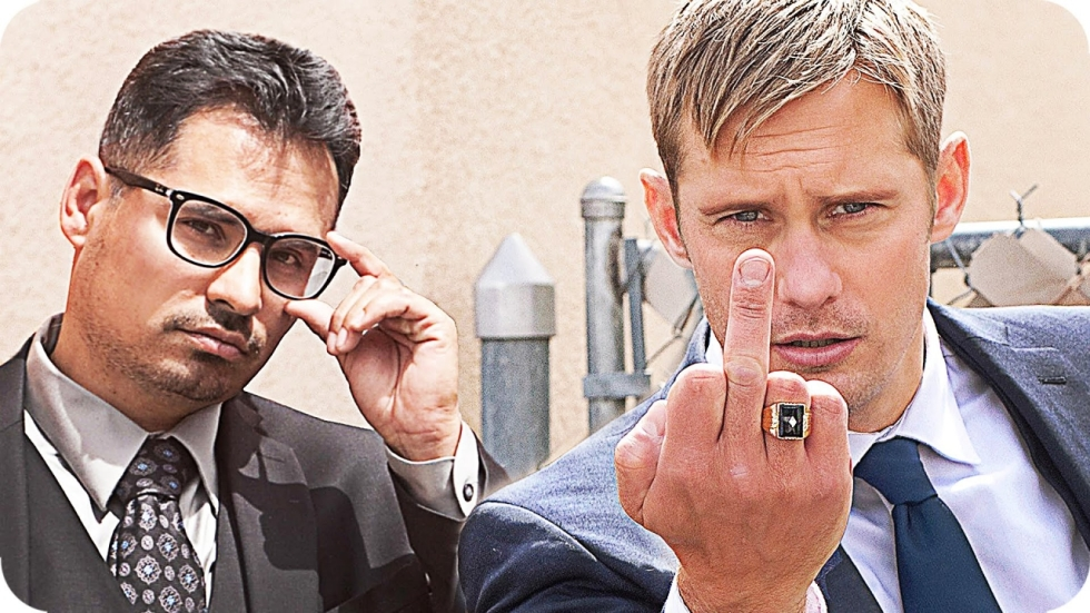 Alexander Skarsgård en Michael Peña als corrupte agenten in 'War on Everyone'-trailer