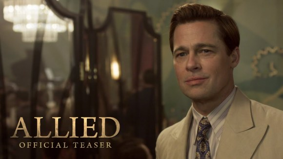 Allied Teaser Trailer