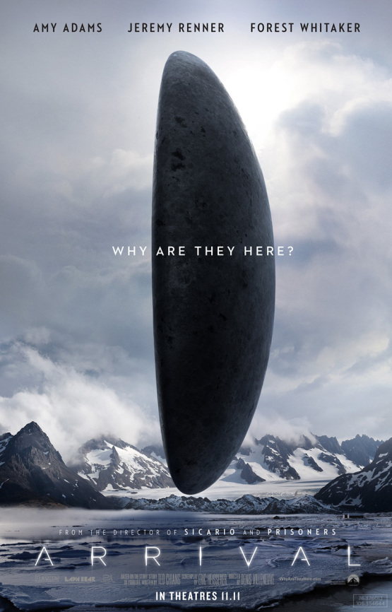 Arrival Movie Poster