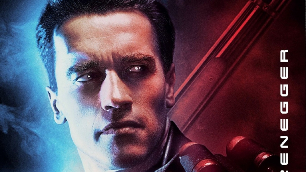 Flashy 3D re-release poster 'Terminator 2: Judgment Day'