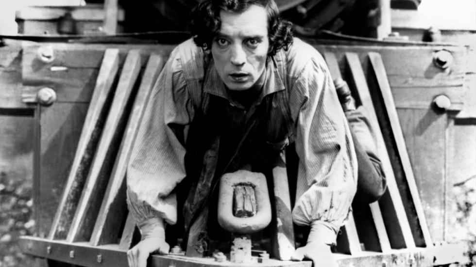 'The General' met Buster Keaton weer in de bioscoop