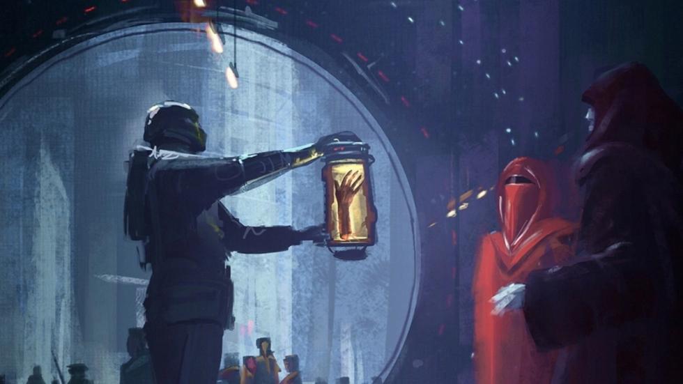 Indrukwekkende concept-art 'Star Wars'