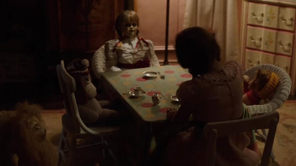 Gegriezel en gekraak in teaser trailer 'Annabelle 2'