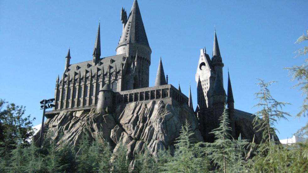 Harry Potter-kasteel in 'Transformers: The Last Knight'