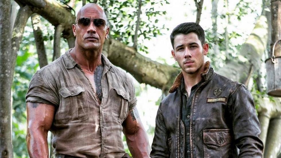 Nieuwe setfoto 'Jumanji' onthult personage Nick Jonas