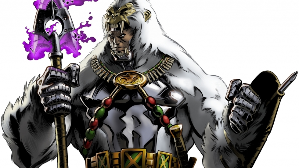 Winston Duke speelt Man-Ape in Marvels 'Black Panther'