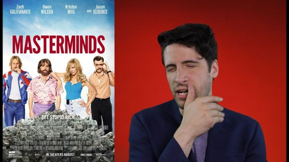Jeremy Jahns - Masterminds Movie Review