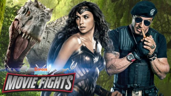 ScreenJunkies - What franchise should wonder woman join? movie fights!!