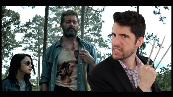 Jeremy Jahns - Logan trailer review