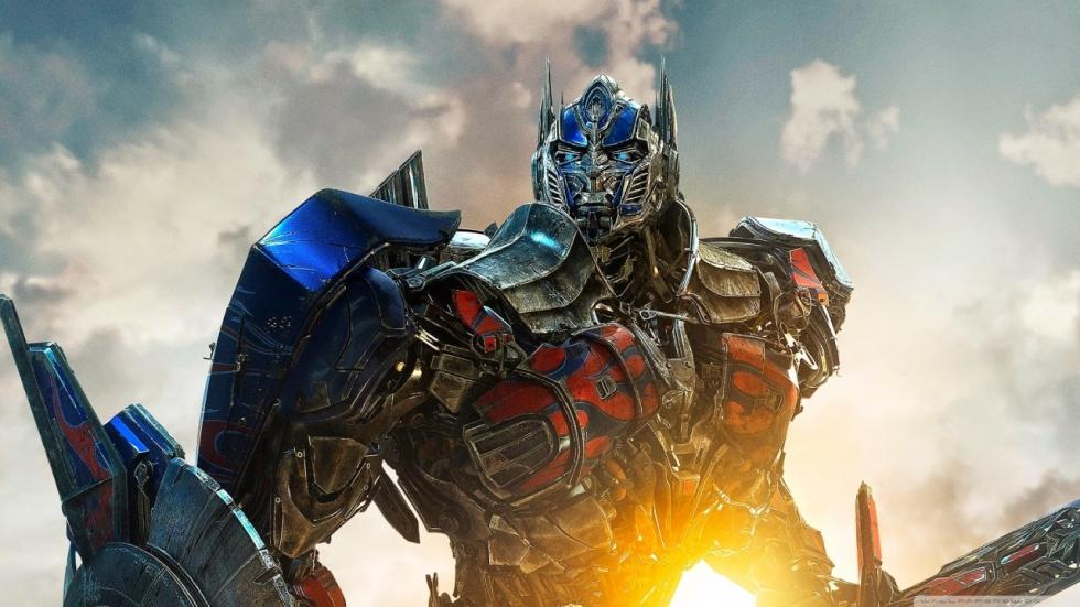 Nieuwe indruk op iets geüpgrade Optimus Prime uit 'Transformers: The Last Knight'