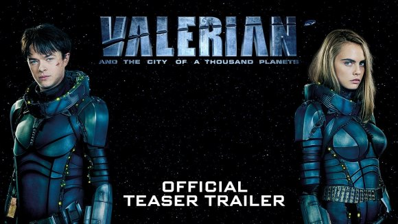 Teaser trailer 'Valerian and the City of a Thousand Planets'