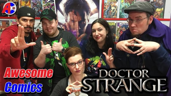 Channel Awesome - Doctor strange - awesome comics