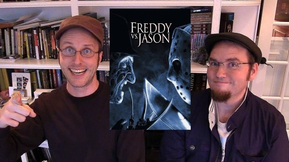 Channel Awesome - Nostalgia critic real thoughts on freddy vs jason