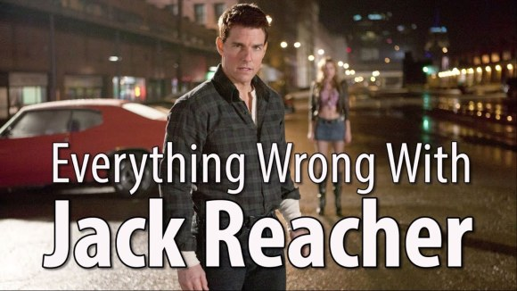 CinemaSins - Everything wrong with jack reacher in 13 minutes or less