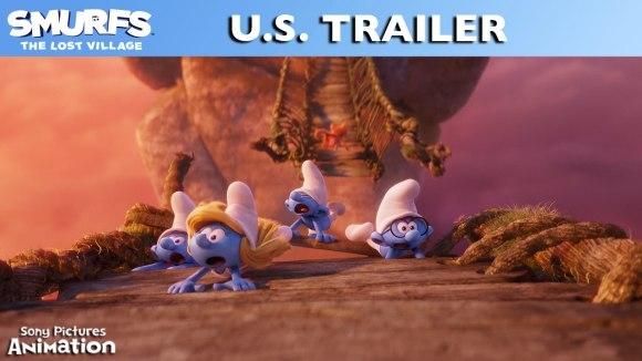 U.S. trailer 'Smurfs: The Lost Village'