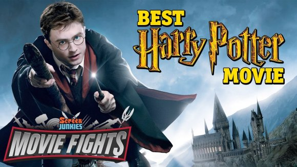 ScreenJunkies - What is the best harry potter movie? - harry potter fights!