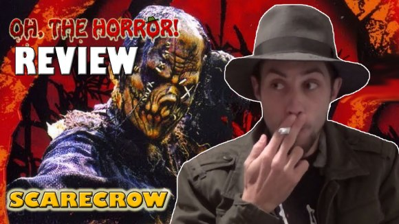 Fedora - Oh, the horror!: scarecrow