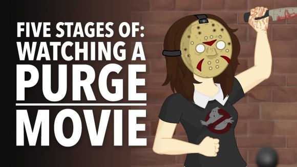 How It Should Have Ended - Five stages of watching a purge movie