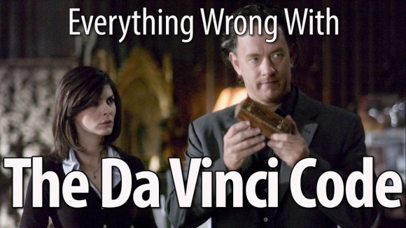 CinemaSins - Everything wrong with the da vinci code in 15 minutes or less