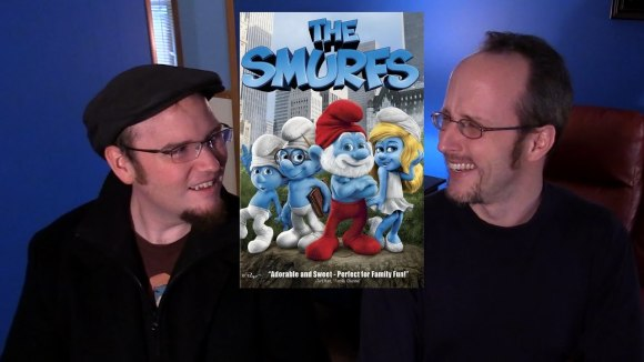 Channel Awesome - Nostalgia critic real thoughts on - smurfs