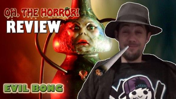 Fedora - Oh, the horror!: evil bong