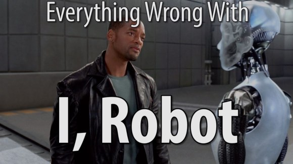 CinemaSins - Everything wrong with i robot in 14 minutes or less