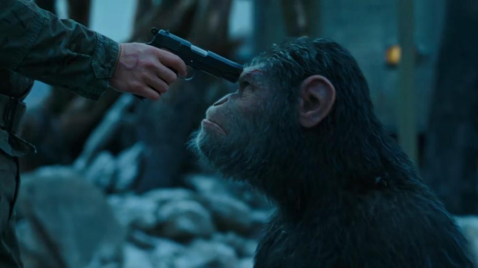 Stevige eerste trailer 'War for the Planet of the Apes!