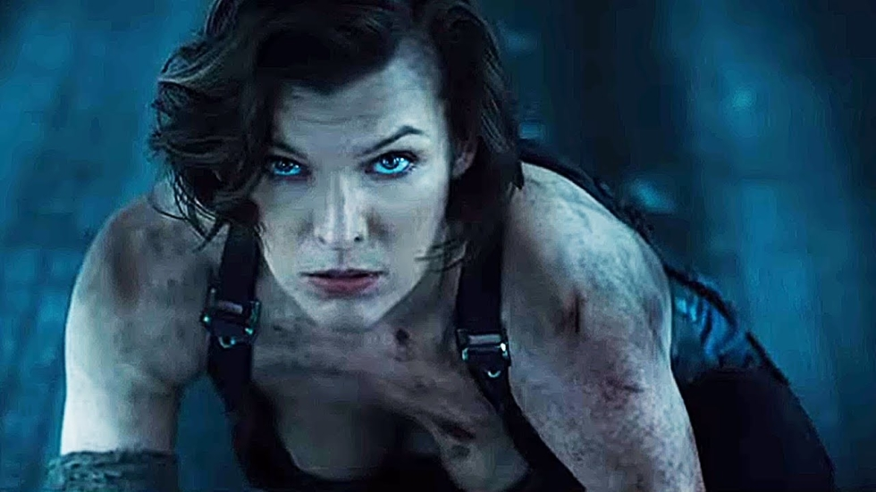 Twee nieuwe clips 'Resident Evil: The Final Chapter'