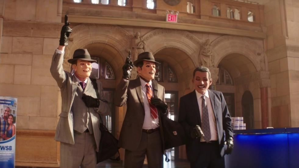 Freeman, Caine en Arkin in 'Going in Style' trailer