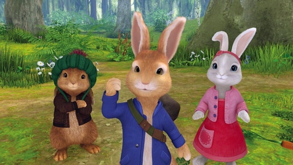 Sony Pictures onthult eerste foto 'Peter Rabbit'