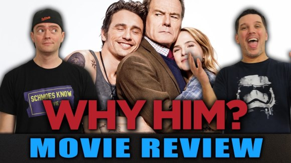 Schmoes Knows - Why him? Movie Review