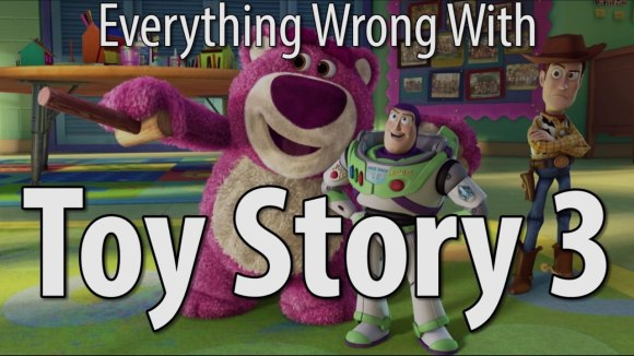CinemaSins - Everything wrong with toy story 3 in 14 minutes or less