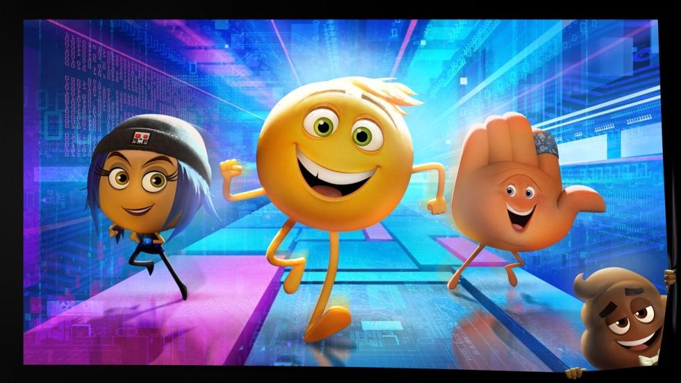 Gezichtjes, ijsjes en drolletjes in teaser trailer 'The Emoji Movie'