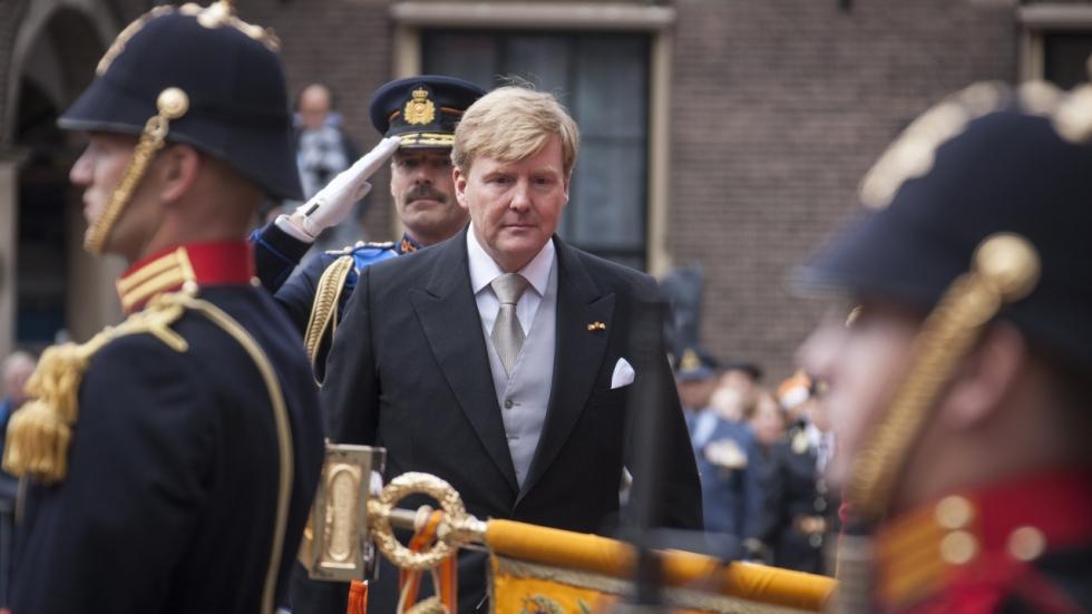 Koning Willem-Alexander bij wereldpremière 'Double Play' tijdens IFFR