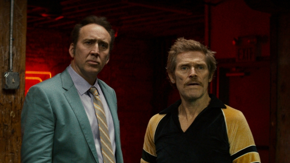 Isabelle Huppert, Nicolas Cage & Willem Dafoe in 'Siberia'