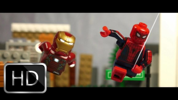 Spider-Man: Homecoming Trailer in LEGO