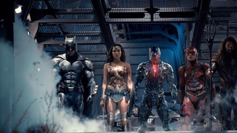 Volledig geëvolueerde Wonder Woman in 'Justice League'