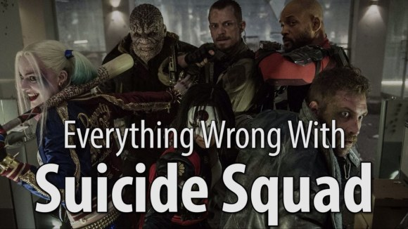 CinemaSins - Everything wrong with suicide squad in 20 minutes or less