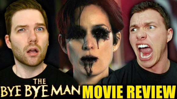 Chris Stuckmann - The bye bye man - movie review w/ john flickinger