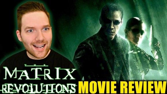 Chris Stuckmann - The matrix revolutions - movie review