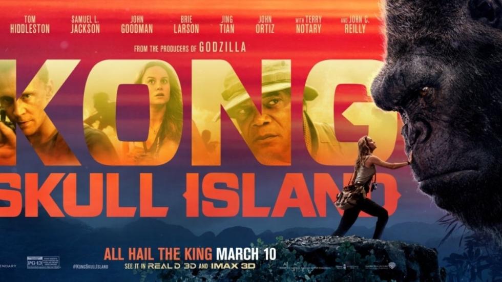 Brie Larsson bedwingt Kong op nieuwe banner 'Kong: Skull Island' [UPDATE]
