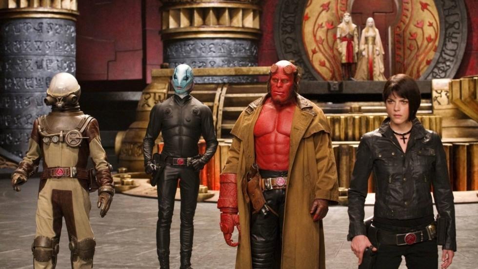 Guillermo del Toro om tafel over 'Hellboy III'
