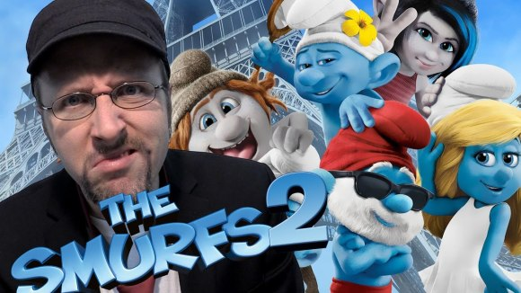 Channel Awesome - The smurfs 2 - nostalgia critic
