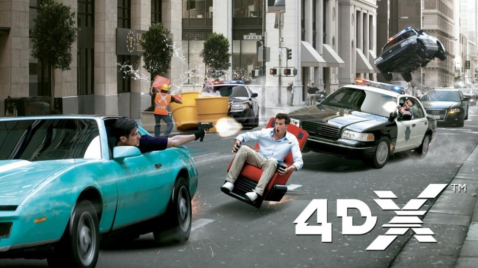 Is 4DX de nieuwste bioscoopsensatie?